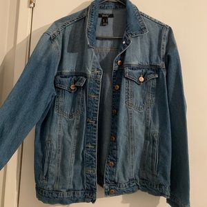 NEW Thanks for nothing Jean jacket